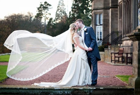 Winter Romance at Matfen Hall for Siobhan and Mark