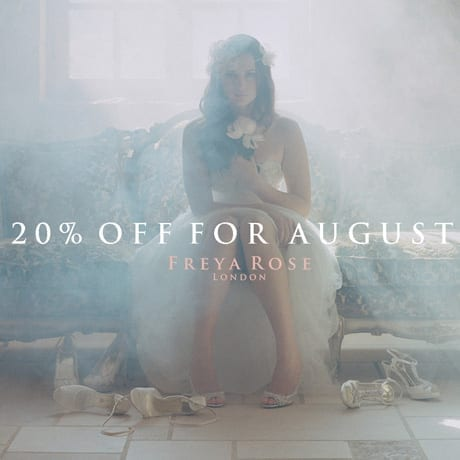 Freya Rose 20% off in August