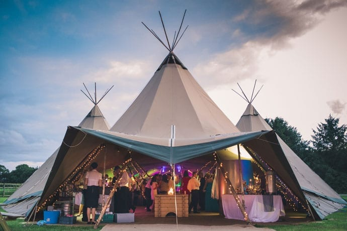 Papakata Tipi With Some Glamour – Sean and Scott's York Wedding