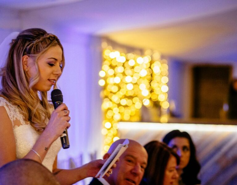 (Inappropriate) Wedding Speeches Cause Big Day Nerves