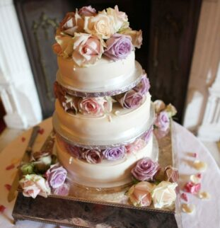 Matfen Hall: Pretty In Pink For Kate And Ryan