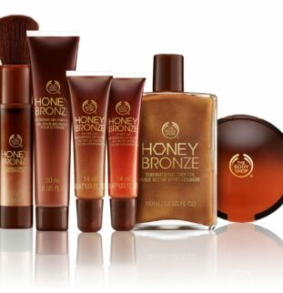 Make up for a golden glow - The Body Shop Honey Bronze Collection