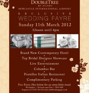 Wedding Fair at the brand new Hilton Doubletree Newcastle