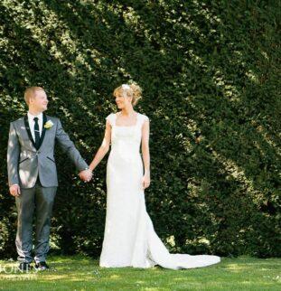 Stylish Springtime Wedding At Headlam Hall