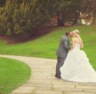 Wedding Day Glamour At Wynyard Hall