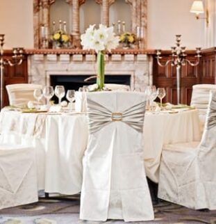 Simply inspirational reception ideas from Simply Bows and Chair Covers