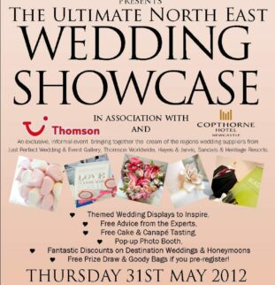 Breaking News! Do you want to be on TV? Visit the Ultimate North East Wedding Showcase tomorrow night!