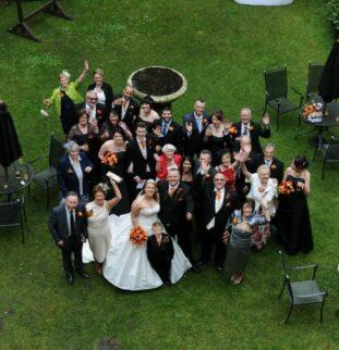 Four Wedding Cakes  - Deborah of Celebration Cakes Gets Hitched!