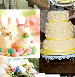 Get in the spring spirit with some Easter wedding inspiration