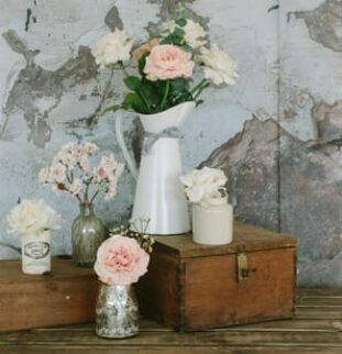 Faux flowers have never looked better!