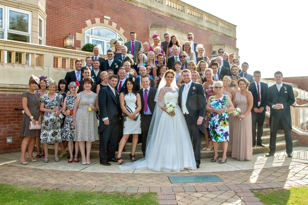 Rockliffe Hall Real Wedding Laura Richard