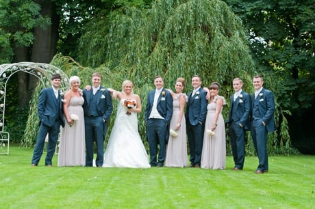 Rustic Romance – A Real Wedding at Eslington Villa by Nigel Playle Photography