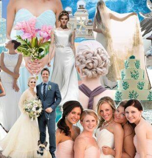 Beachy Keen! Destination Wedding Inspiration and Colour Theme