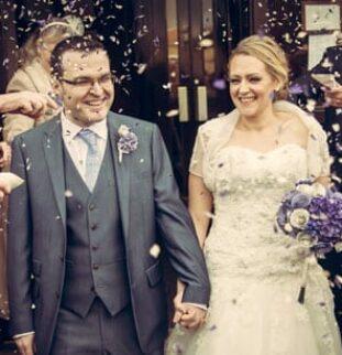 Literary Lovers - Marie and Roger's Wedding at Eslington Villa
