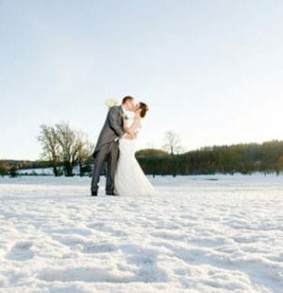 A Classic Winter Wedding - Laura and George at Slaley Hall