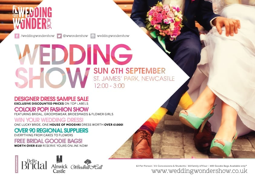 Wedding Wonder Show Sunday 6th September