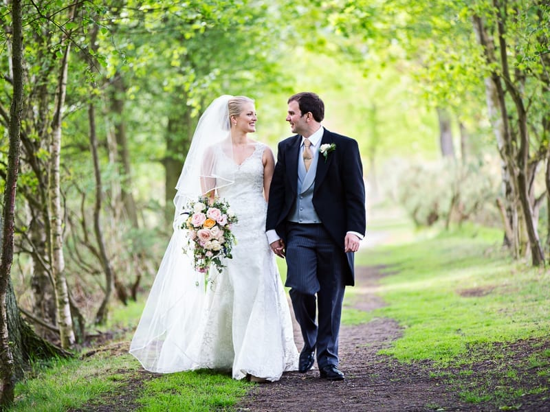 Church Wedding and Marquee Reception in Yorkshire