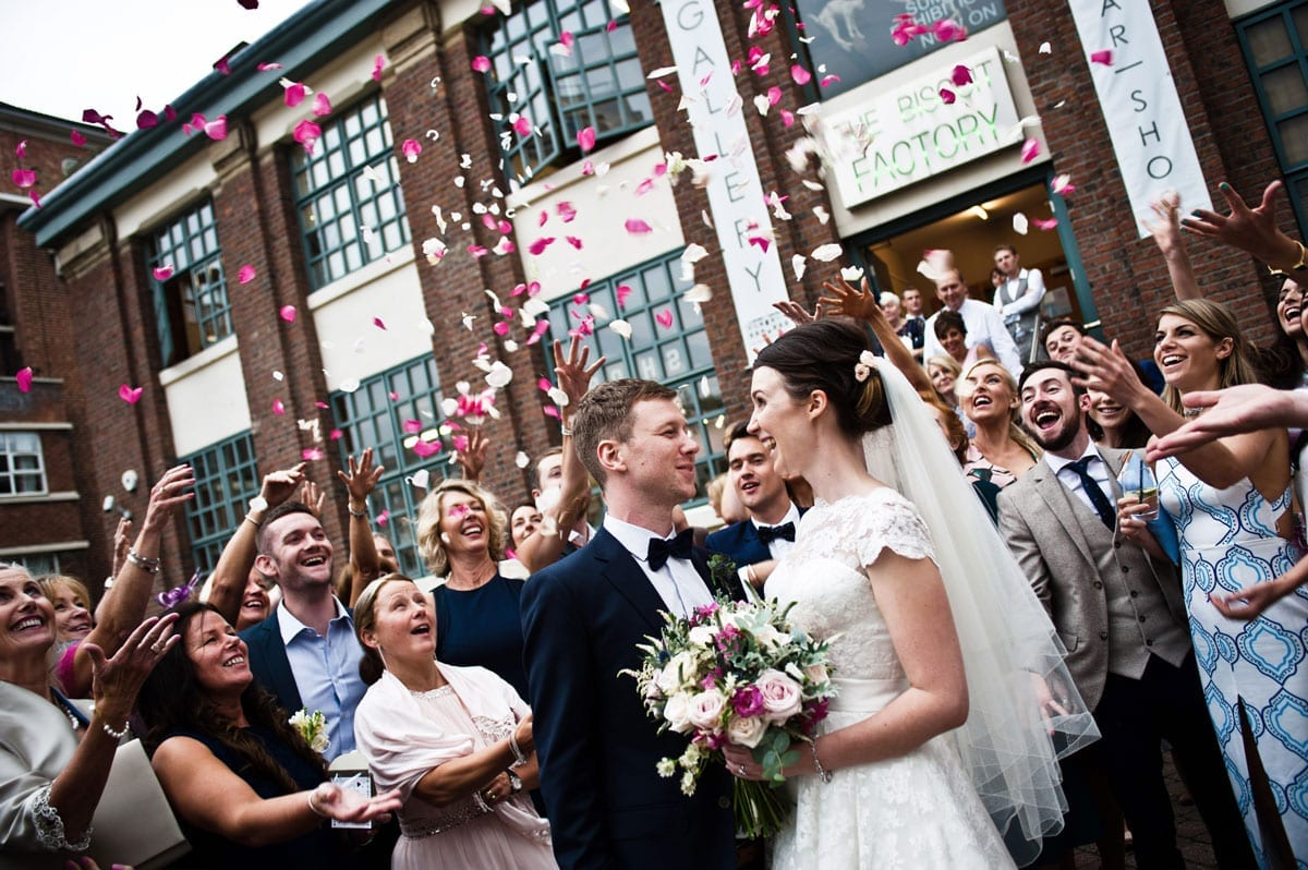 Wedding Party At The Biscuit Factory