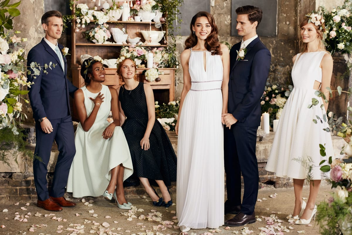 Ted Baker Launches Debut Bridal Capsule Collection At The