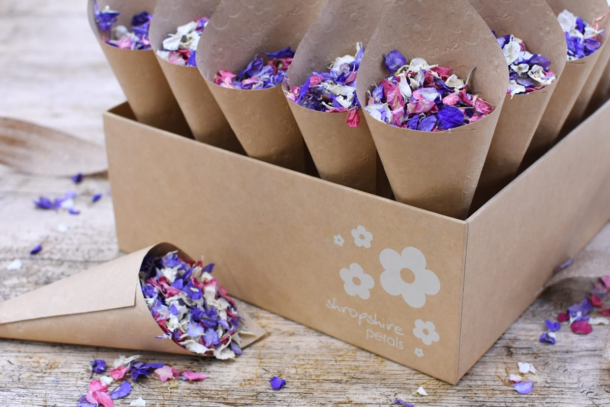 Shropshire Petals Launch Kraft Shropsh
