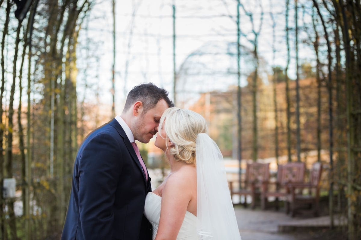 Alnwick Gardens Real Wedding