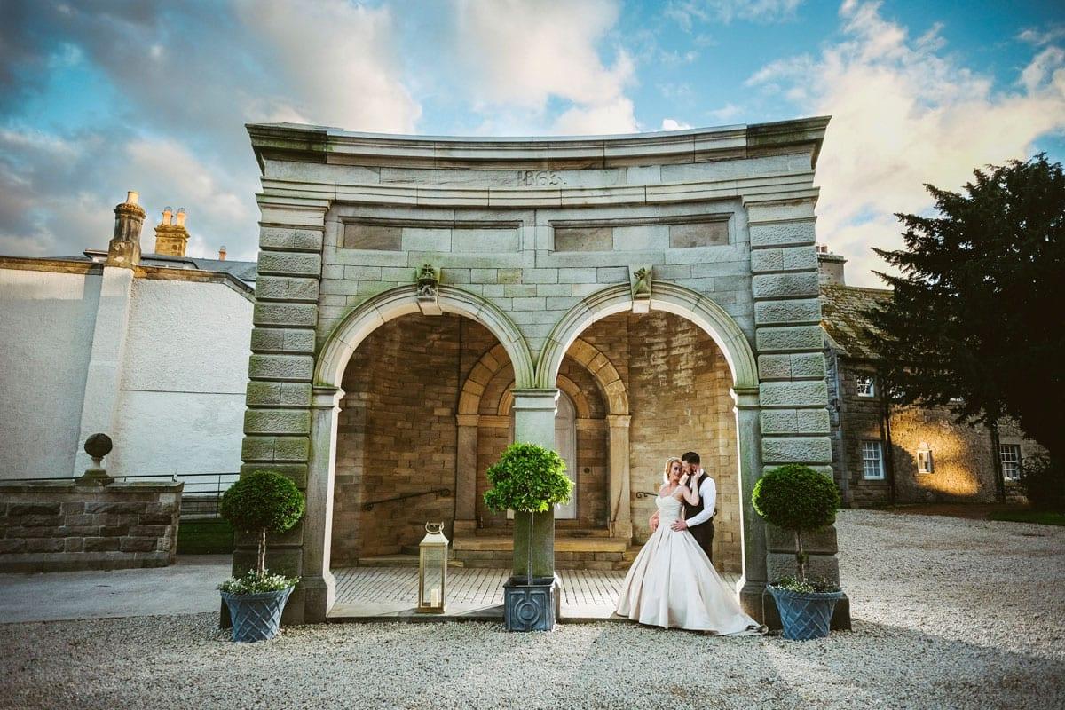 Lartington Hall Real Wedding