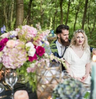 Yorkshire Shoot: Styling, Stars And Shimmering Things