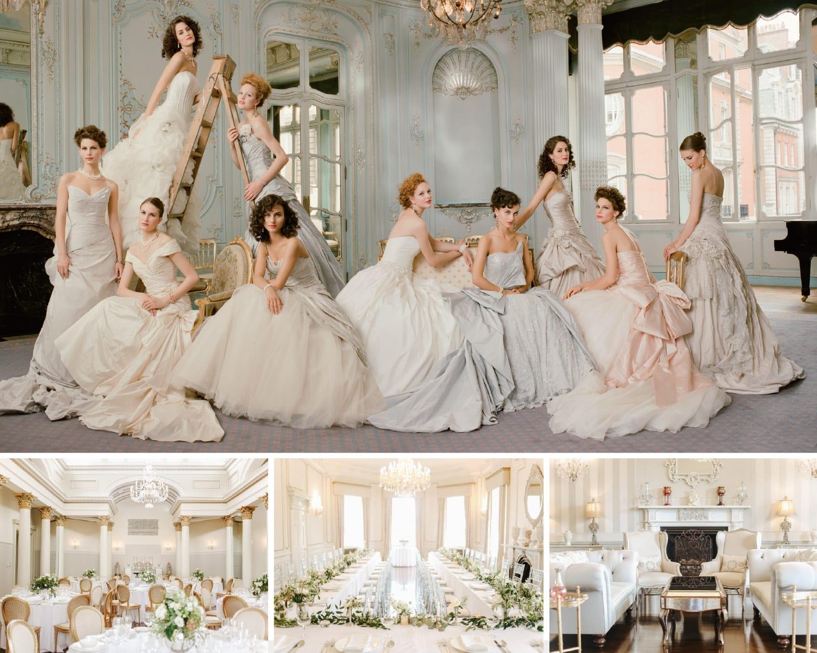 The Art of Bridal Style with Ian Stuart at Lartington Hall