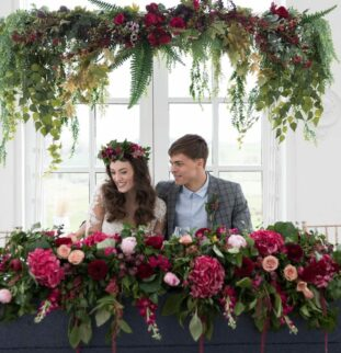 Woodhill Hall Styled Photoshoot For The Boho Bride-To-Be