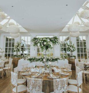 White Wonderland At Woodhill Hall