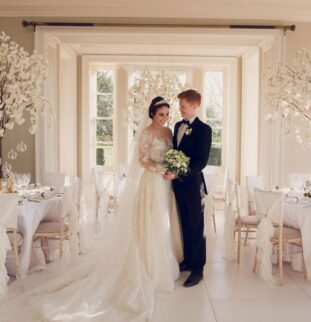 21st Century Royal Wedding Inspired Photoshoot