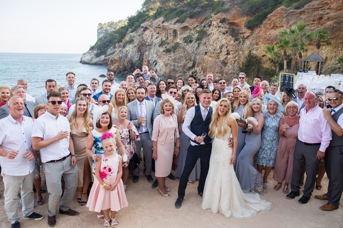 Ibiza Real Wedding Luke Kate