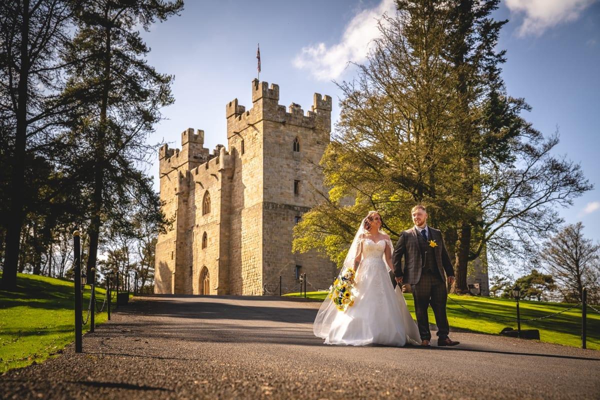 Langley Castle Real Wedding Danielle Brandon