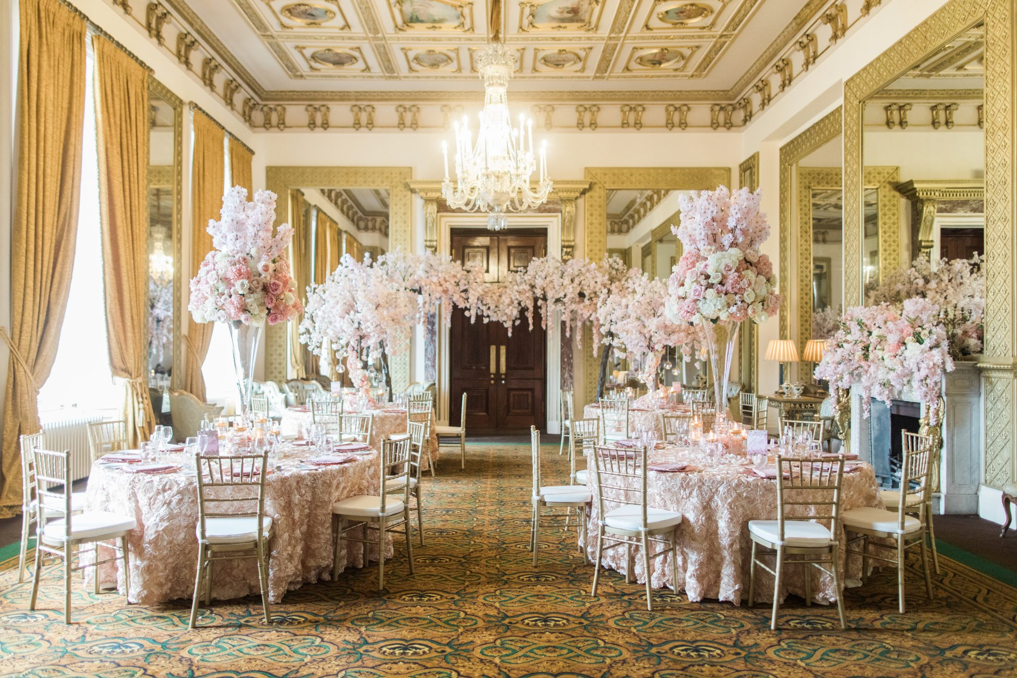 Rose in Bloom: The Beauty of Wynyard Hall Uncovered