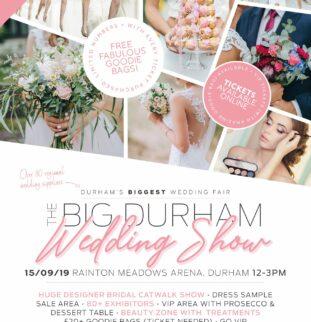 The BIG Durham Wedding Show – Rainton Meadows Arena