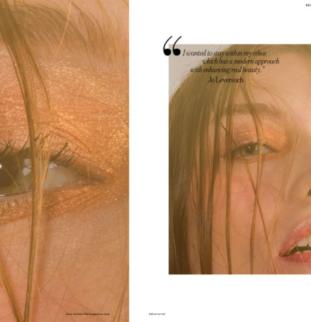 Styled Shoot: Beauty Mode, Lee Scullion
