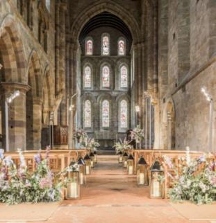 Styled Shoot: Brinkburn Northumberland, Simply Elegant