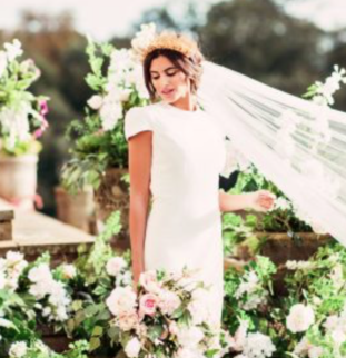 Styled Shoot: Wynyard Hall, Kiss from a Rose