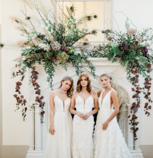 Belle Bridal SS20: Thicket Priory, Halo