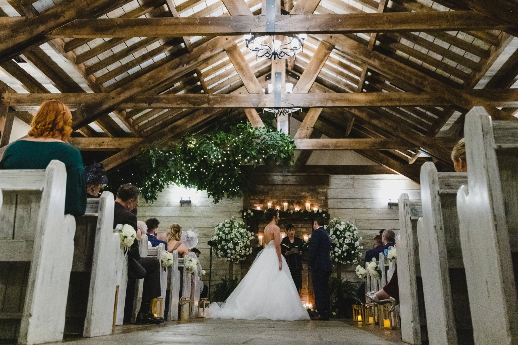 Joanna and Liam's Rustic Romance at South Causey Inn