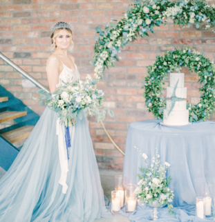 Styled Shoot: All The Blues, BelleBijoux Events