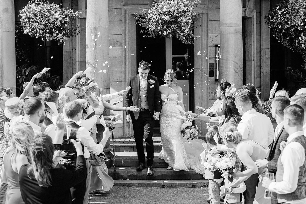Beamish Hall Hotel: Katie & James' Grandeur Celebration