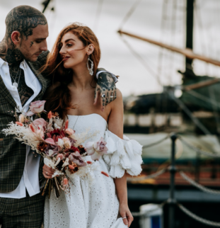 Styled Shoot: Four of the Finest, Ghost Orchid