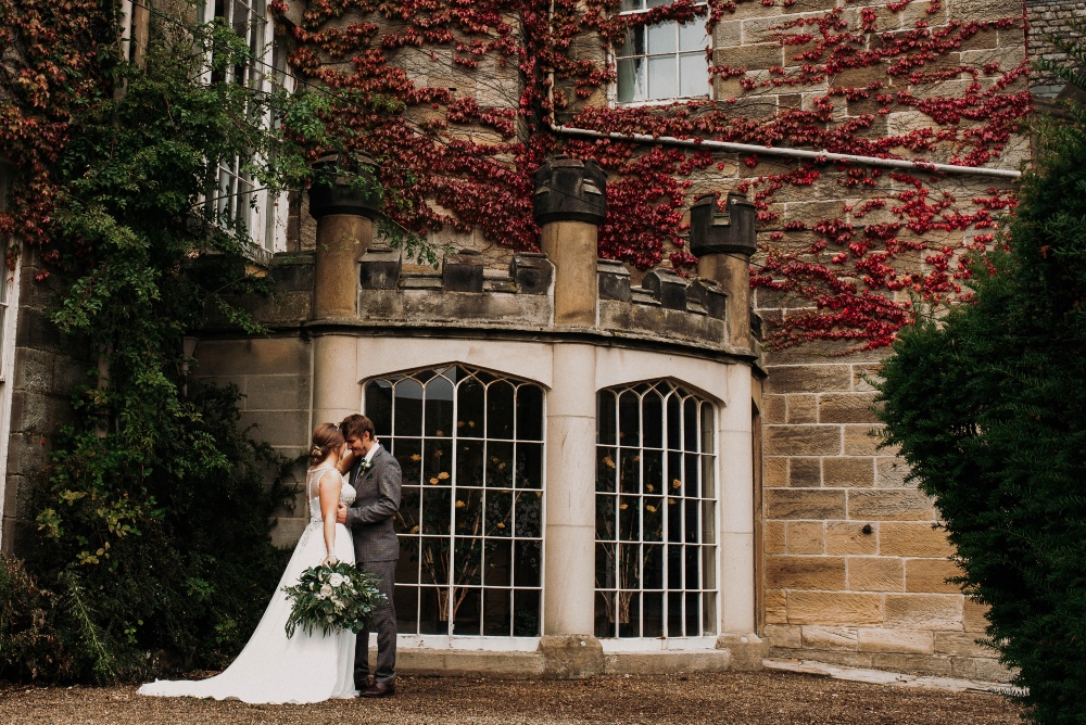 Green, Gold Elegance Wedding at Sneaton Castle-78SNEATONCASTLE
