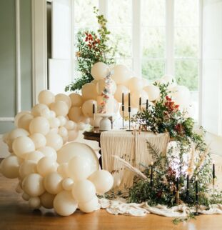Intimately Idyllic at Flore House by Lavelle Bridal Couture