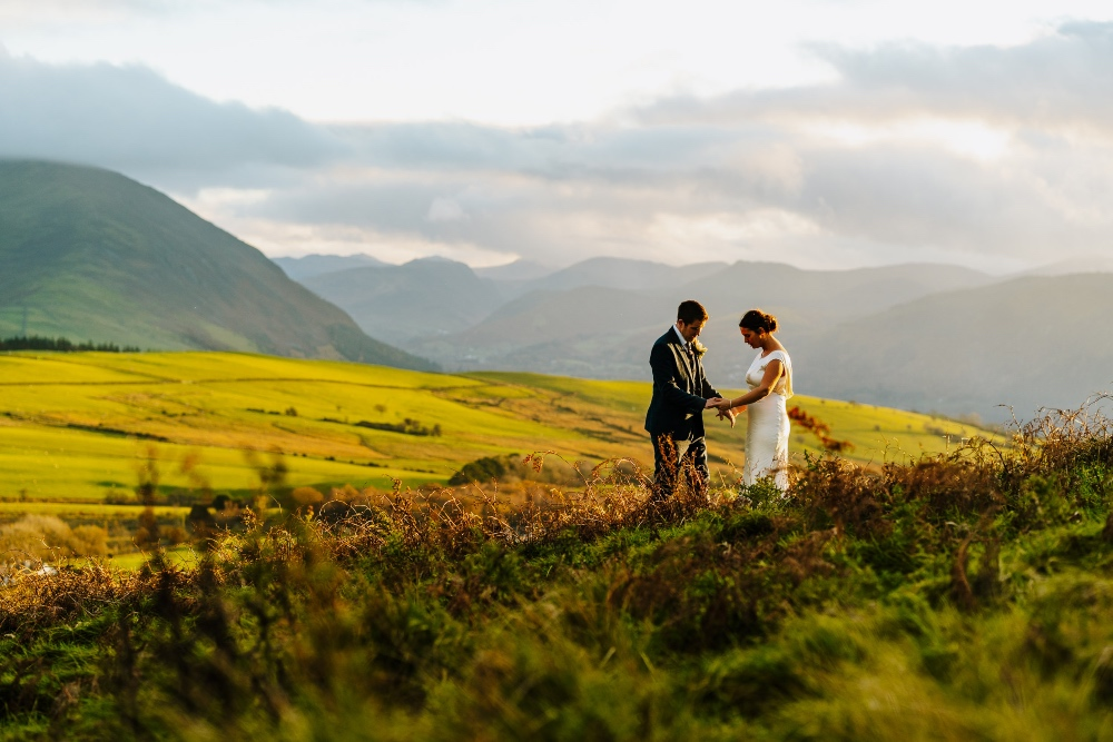 Andrea and Ryan's Lockdown Love Story in the Lakes