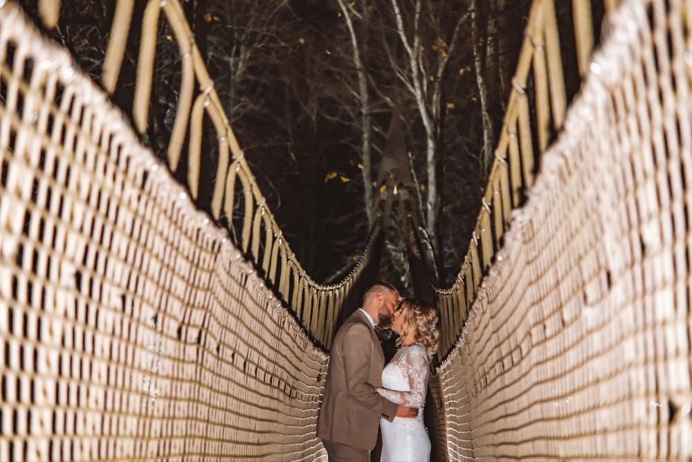 Danielle and Ryan's Twilight Tree Top Celebration