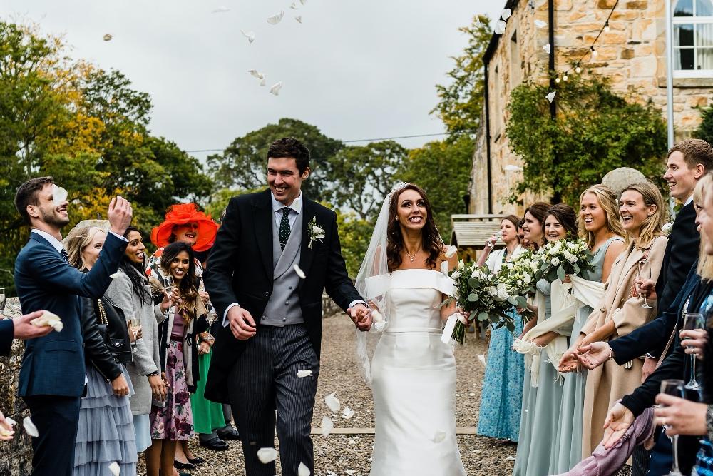 Sarah and Will's Wonderful Rustic Romance at Brinkburn, Northumberland