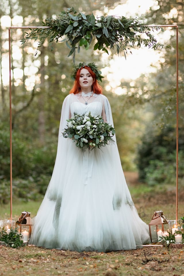 Woodland Elopement Shoot The Rose Quartz Photography
