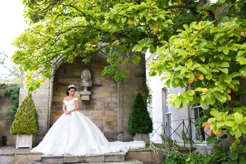 Rudding Park, Bride's Dress by Jacykay Haute Couture, Photography by Meredith Photography